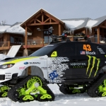 Ken Block.  Bring your Subaru to Tailgate Alaska.